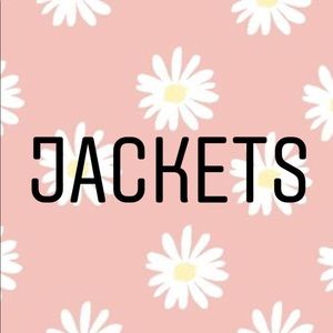 Tops - Jackets!